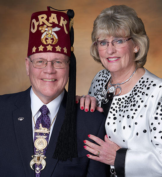 potentate and wife portrait
